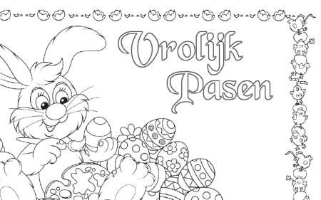 Placemat Paasontbijt Denksleutelles Paaseierenrace En Meer Pasen